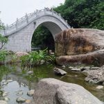 China Shenzhen park bridge