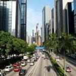 Hong Kong pedestrian architecture