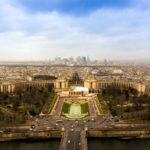 France Paris skyline