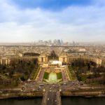 France Paris skyline